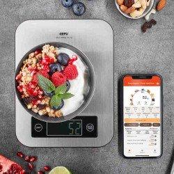 Báscula de cocina Bluetooth Score de Gefu