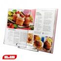 Atril para libros de cocina