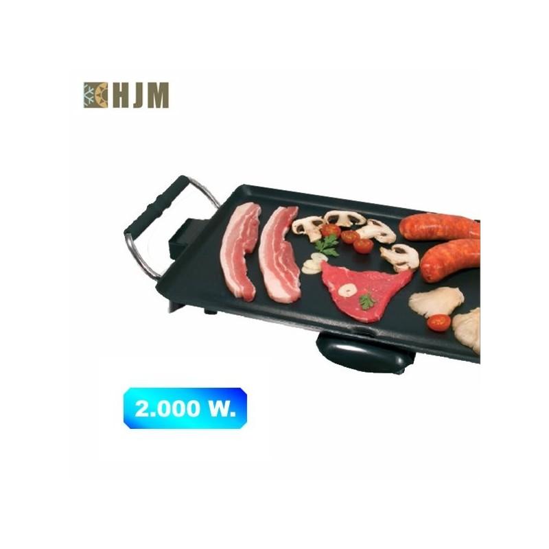 Plancha asadora de cocina 2.000 W.