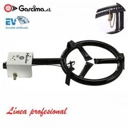 Paellero profesional de gas termopar de Garcima