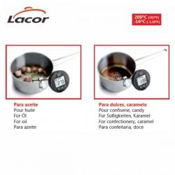 Termómetro de cocina multiusos de Lacor