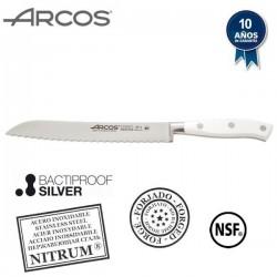 Cuchillo profesional panero de la serie Riviera Blanc de Arcos