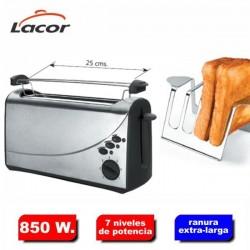 Tostador de pan con ranura larga de Lacor
