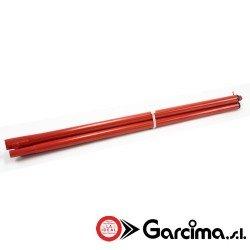 Patas lacadas en rojo de Garcima.