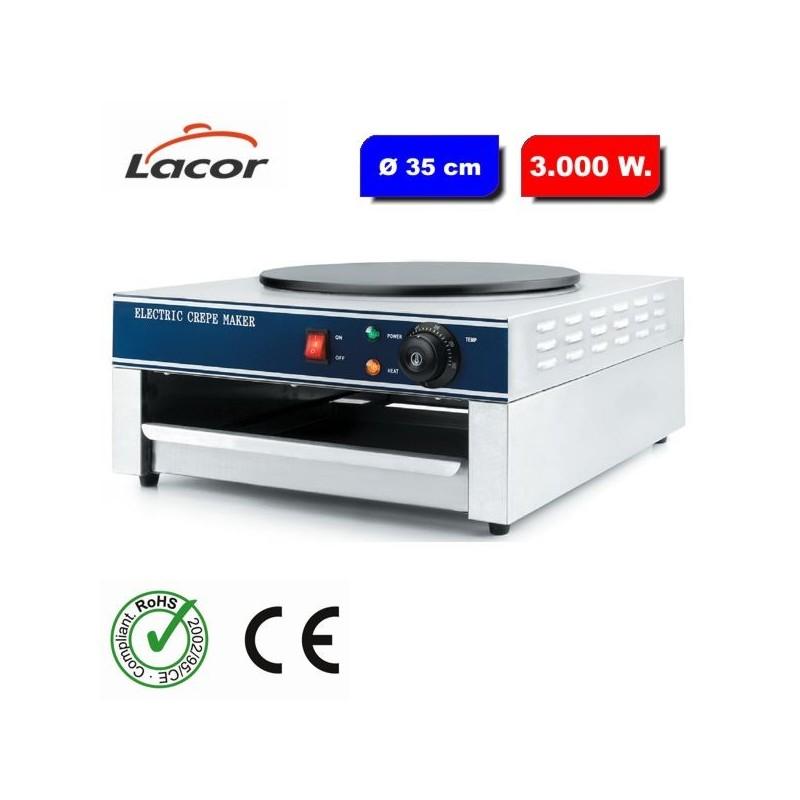 Crepera eléctrica profesional 69196 de Lacor
