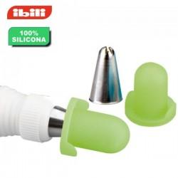 Tapones para cornetes y boquillas pasteleras de Ibili 4 unidades
