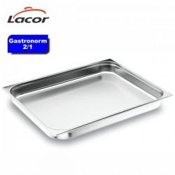 Bandeja cubeta Gastronorm 2/1 de Lacor