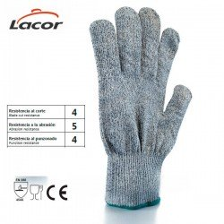 Guantes anticorte textil de Lacor