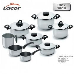 Batería de cocina Estudio de Lacor 8 piezas