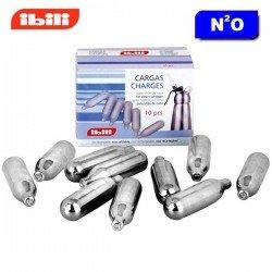 Cargas para sifón de espumas Ibili caja de 10 piezas