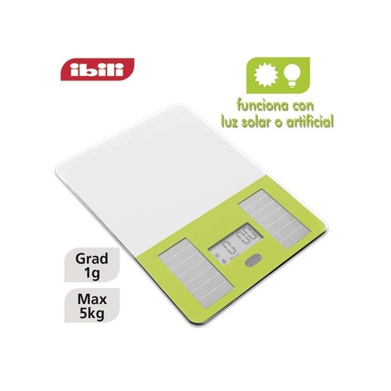 Bascula solar de cocina de Ibili