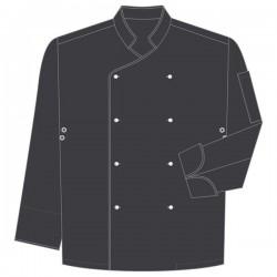 Chaqueta de cocinero para hombre manga larga DELUXE