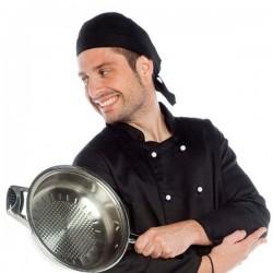 Bandana de cocina, gorro pirata unisex