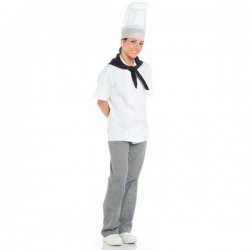 Pantalón de cocinero a cuadros unisex