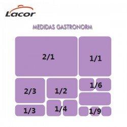 Doble fondo perforado de policarbonato para cubetas Gastronorm