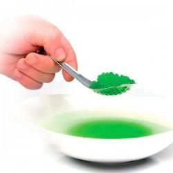 Cuchara perforada para esferificaciones y falso caviar