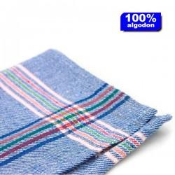 Paño camarero azul 12 unidades de 60x60 cm