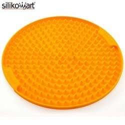 Tapete de silicona para el microondas Crispy Mat Redondo de Silikomart