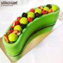 Molde tarta y helados Stella del Circo de Silikomart