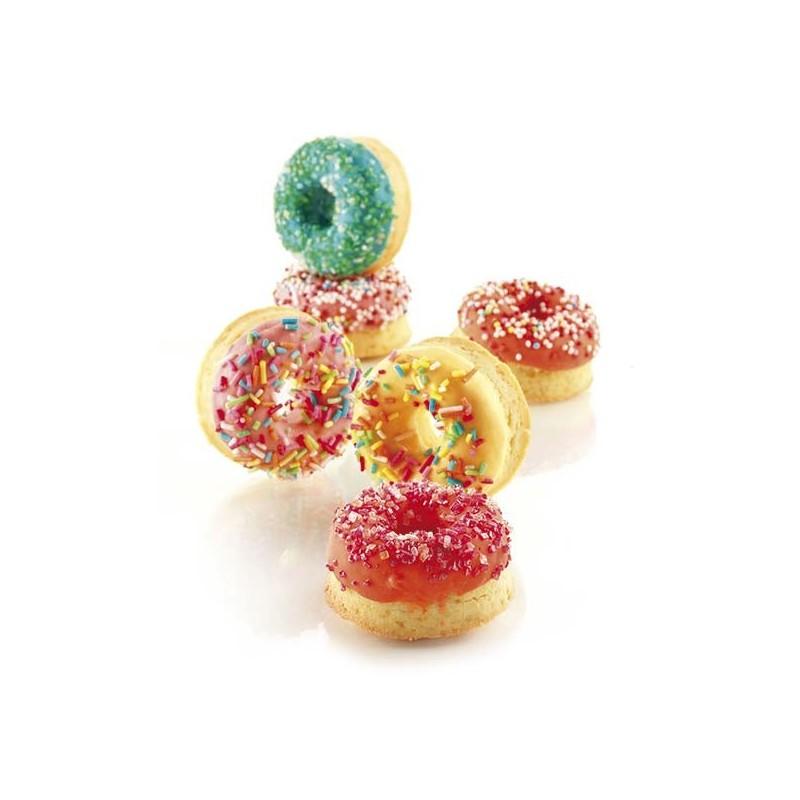 Molde de silicona mini donuts SilikonFlex de Silikomart