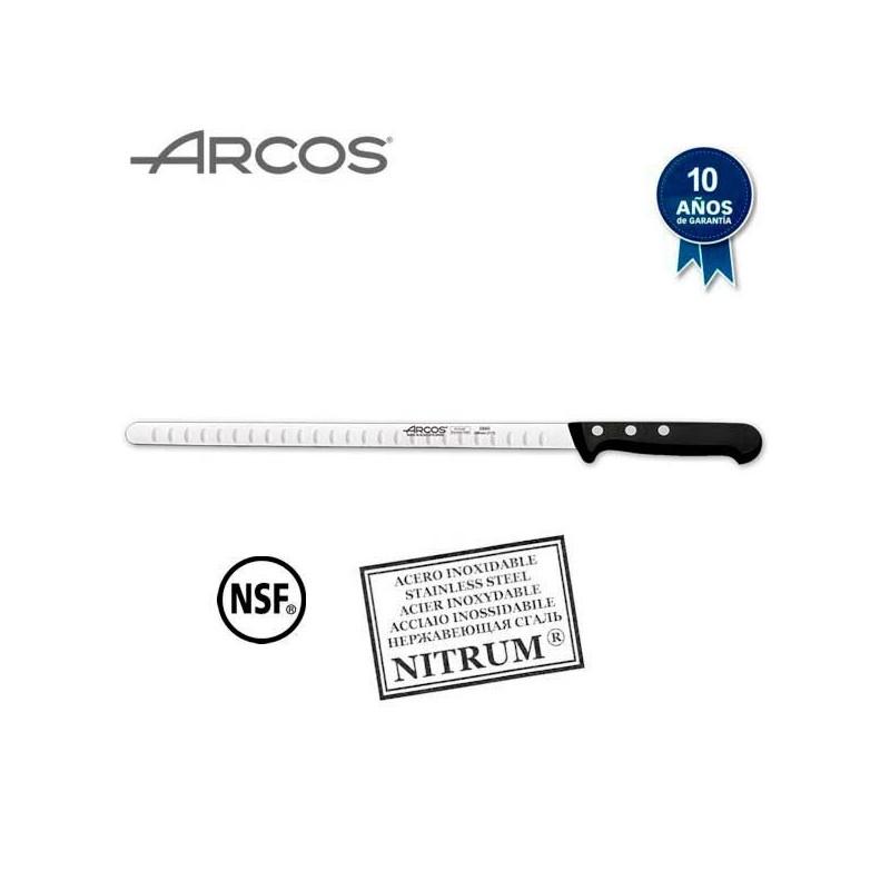 Cuchillo jamonero profesional de punta redonda serie Universal de Arcos