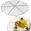 Rejilla enfria tartas y elaboraciones. Candidera de Ibili