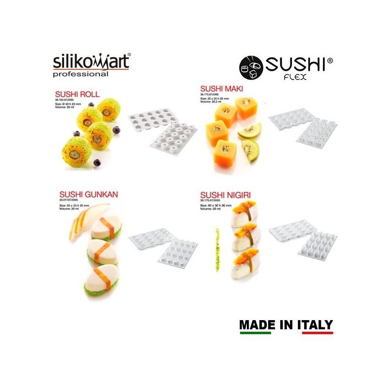 Moldes SushiFlex de Silikomart