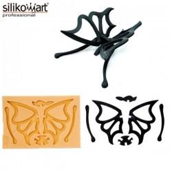 Molde Mariposa SugarFlex Gold de Silikomart