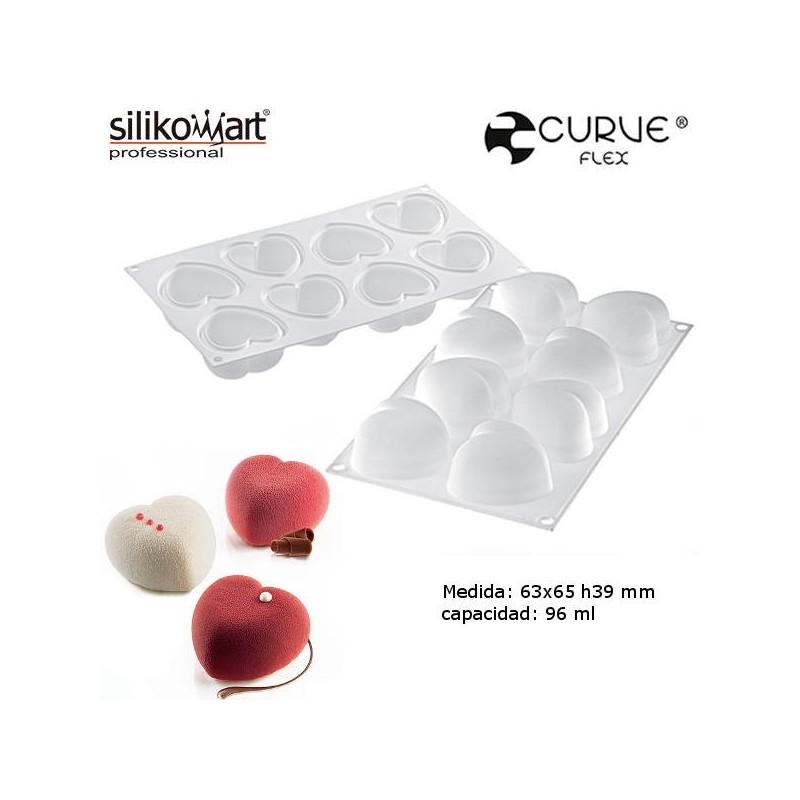 Molde Amorini CurveFlex de Silikomart Profesional