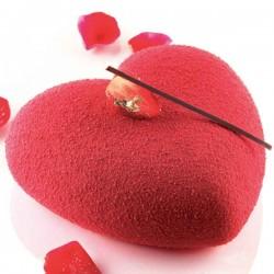 Molde Amore con cortapastas Tortaflex de Silikomart Profesional