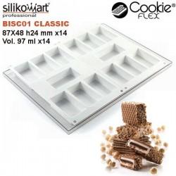 Set de moldes cookieflex BISC01 classic de Silikomart