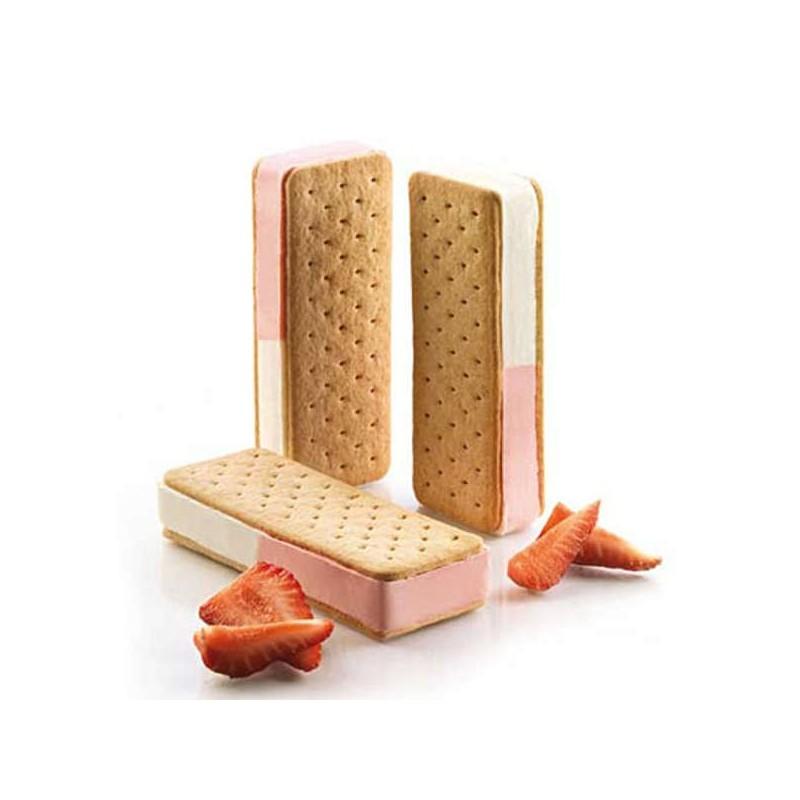 Set de moldes cookieflex BISC03 slim de silikomart