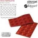 Molde tartelette siliconflex SF013 de Silikomart