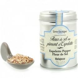 Flor de sal con pimentón de Espelette Terre Exotique