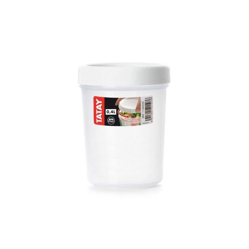 Taper con rosca, tupper para microondas y congelador de Tatay