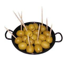 Mini paellas esmaltadas para tapas. Garcima