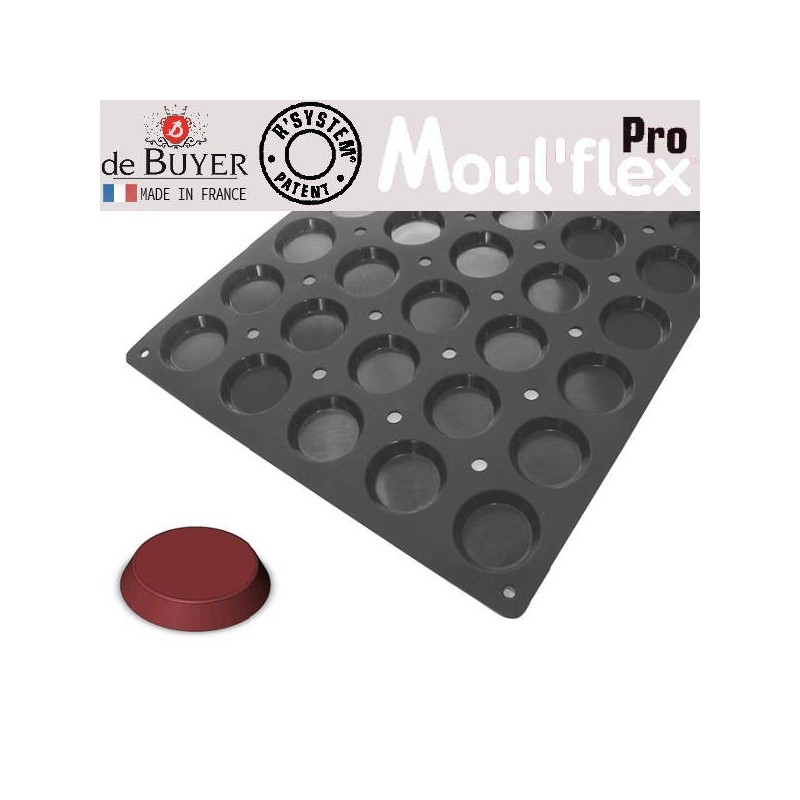 Molde florentins Moul Flex Pro 60x40 de De Buyer