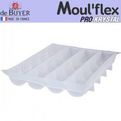 Molde medio tubo Moul Flex Pro Krystal 60x40 de De Buyer