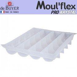Molde medio tubo Moul Flex Pro Krystal 60x40 de...
