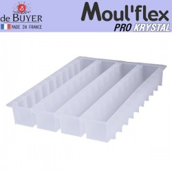 Molde buche Moul Flex Pro Krystal 60x40 de De Buyer