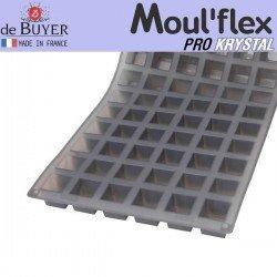 Molde cubos Moul Flex Pro Krystal 60x40 de De Buyer