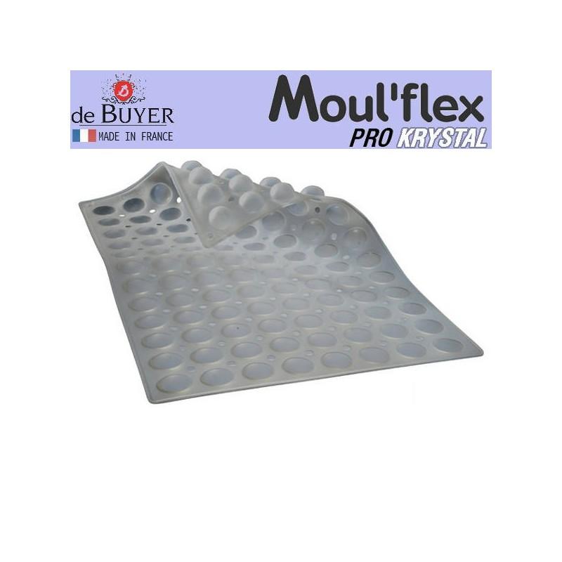 Molde media esfera Moul Flex Pro Krystal 60x40 de De Buyer
