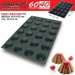 Molde briochette SQ001 de Silikomart Profesional