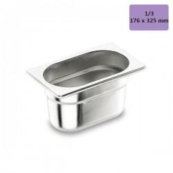 Cubetas gastronorm 1/3 de acero inox Lacor