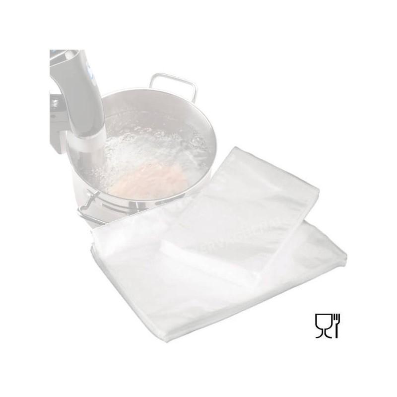 Bolsas gofradas para cocinar a baja temperatura y envasar