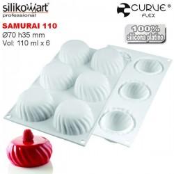 Molde de silicona Samurai CurveFlex de Silikomart