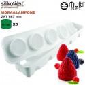 Molde de silicona Mora & Lampone MultiFlex de Silikomart