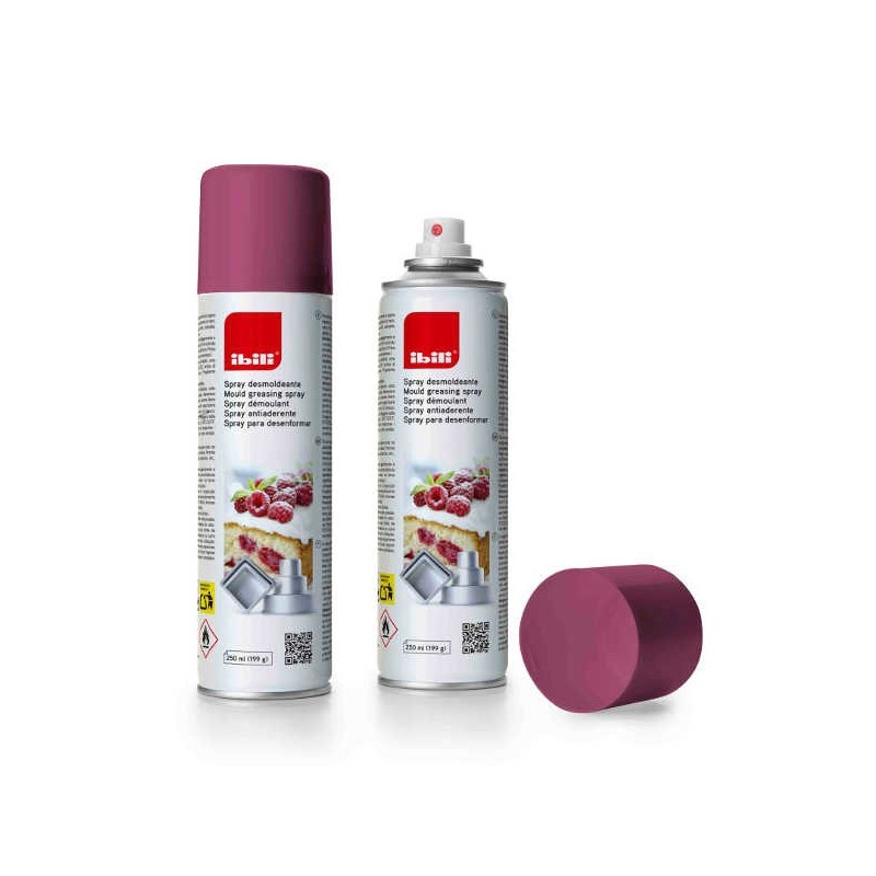 Spray antiadherente desmoldante de Ibili 250 ml.