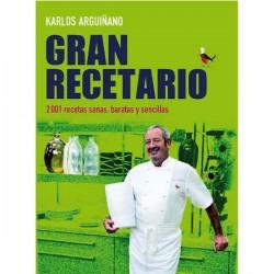 Gran recetario de Karlos Arguiñano