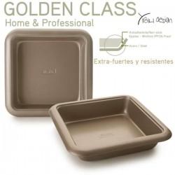 Molde cuadrado 24x24 cm Golden Class de Ibili